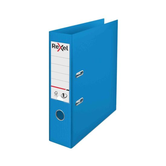 Rexel Choices Pack of 10 Polypropylene Lever Arch File A4 Blue
