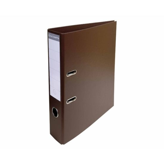 Exacompta PremTouch A4 Lever Arch File 70mm Pack of 10 Brown