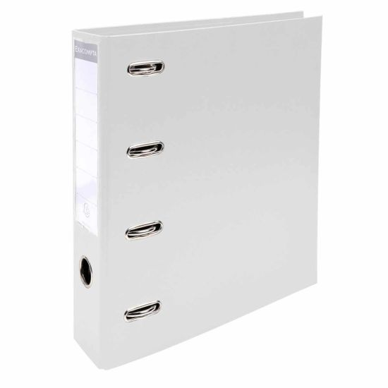Exacompta Lever Arch File A4 70mm Double Mechanism Pack of 2