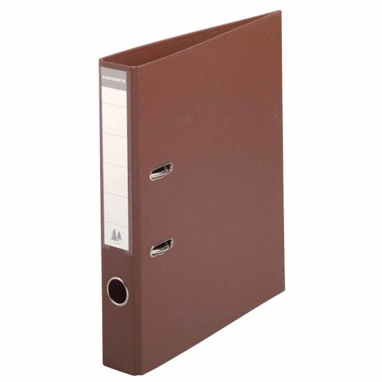 Exacompta PremTouch A4 Lever Arch File 50mm Pack of 10 Brown