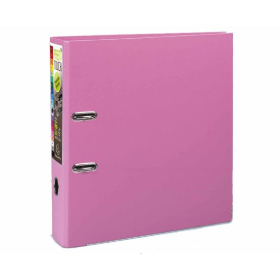 Exacompta PremTouch Lever Arch File A4 Plus Pack of 10 Pink