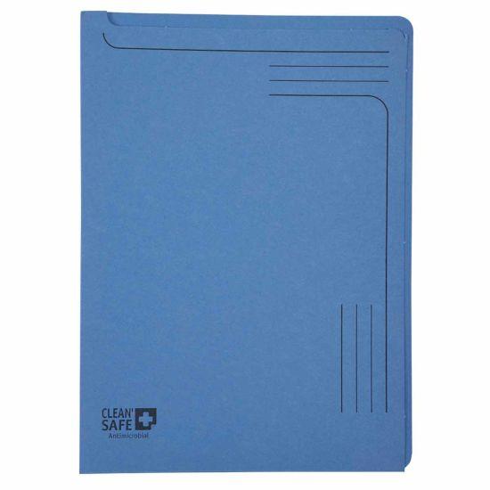 Exacompta Clean Safe A4 Slip Files 400gsm Pack of 5