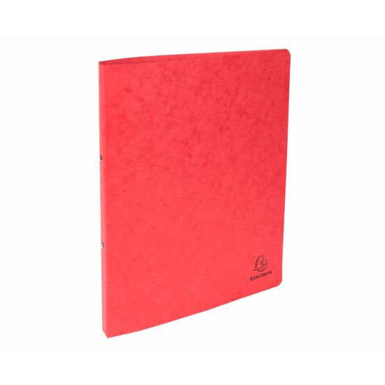 Exacompta Europa Pressboard Ring Binder A4 Pack of 10 Red