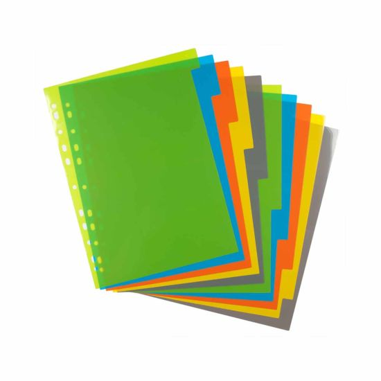 eco eco Index File Dividers A4 Pack of 10