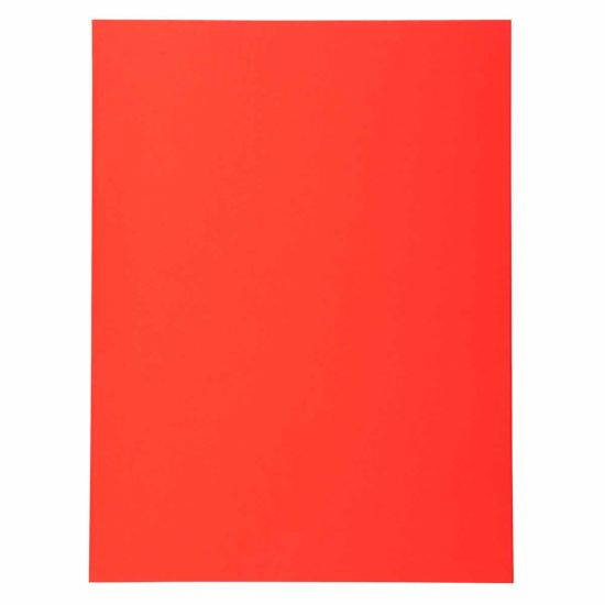 Exacompta Forever Square Cut Folders A4 220gsm Pack of 500 Red