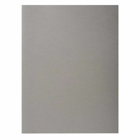Exacompta Forever Square Cut Folders A4 170gsm 5 Packs of 100 Grey