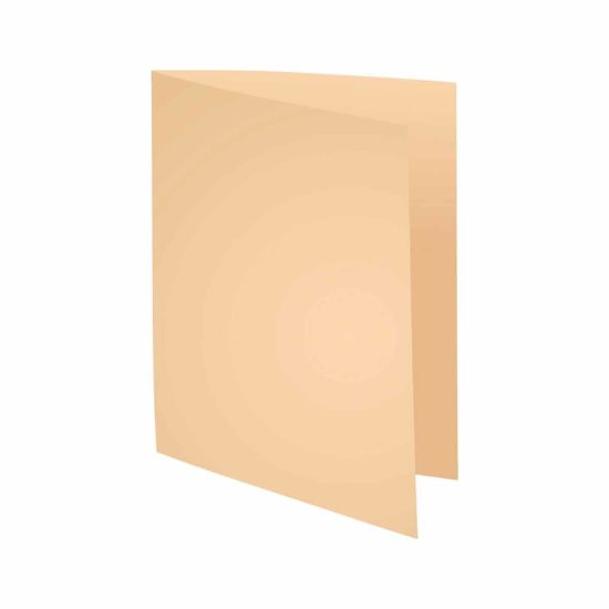 Exacompta Forever Square Cut Folders A4 220gsm Pack of 500 Cream