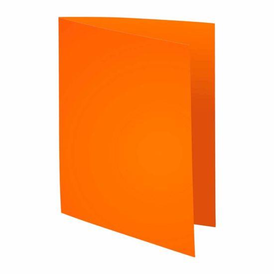 Exacompta Forever Square Cut Folders A4 220gsm Pack of 500 Orange