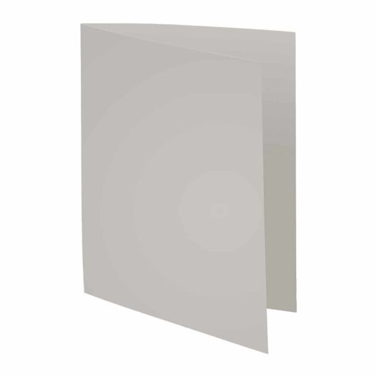 Exacompta Forever Square Cut Folders A4 220gsm Pack of 500 Grey