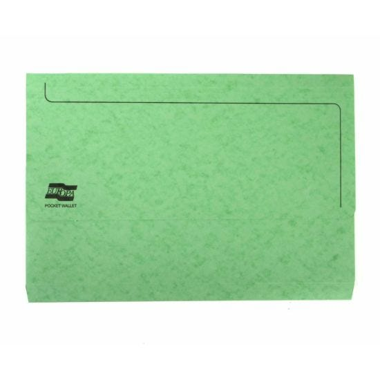 Europa Pocket Wallet Foolscap Lime