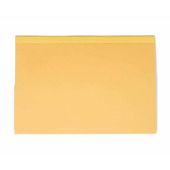 Exacompta Guildhall Reinforced Double Pocket Wallets Foolscap Pack of 25 315gsm Yellow
