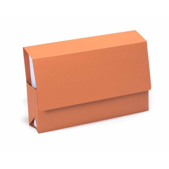 Exacompta Guildhall Probate Document Wallet Foolscap Pack of 25 315gsm Orange