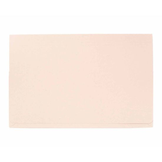 Exacompta Guildall Document Wallet Foolscap Pack of 50 315gsm Buff