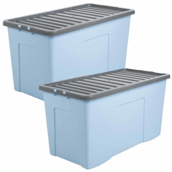 Wham Storage Box 110 Litre Pack of 2