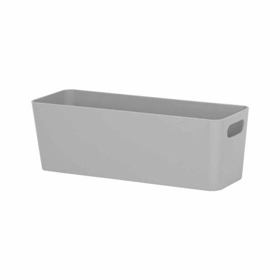 Wham Studio Rectangular Basket 7.01 Grey
