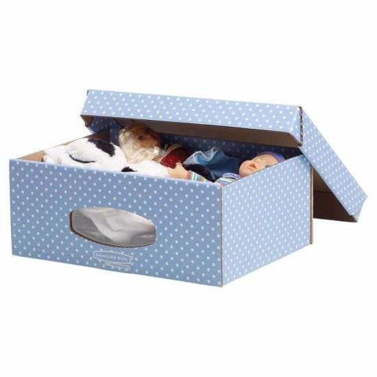 Fellowes Bankers Cardboard Storage Box A4 Pack of 2