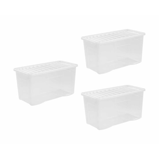 Wham Crystal Boxes 110 Litres Pack of 3