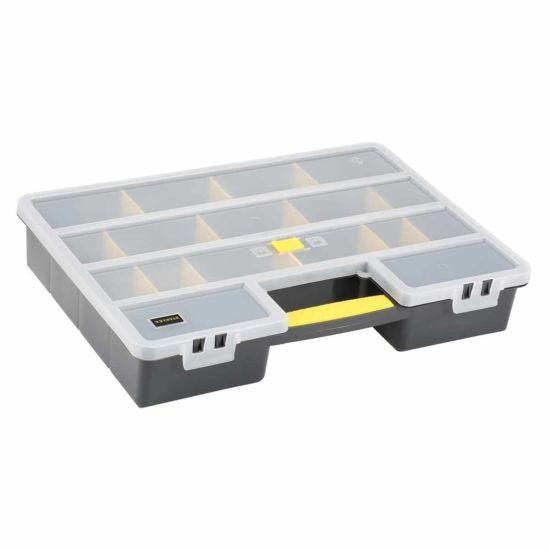 STANLEY Organiser with 25 Adjustable Compartments