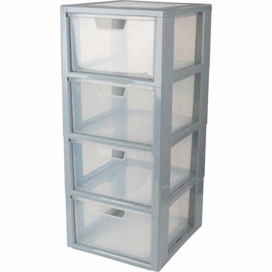 Tontarelli 4 Drawer Linea Modular Storage Unit