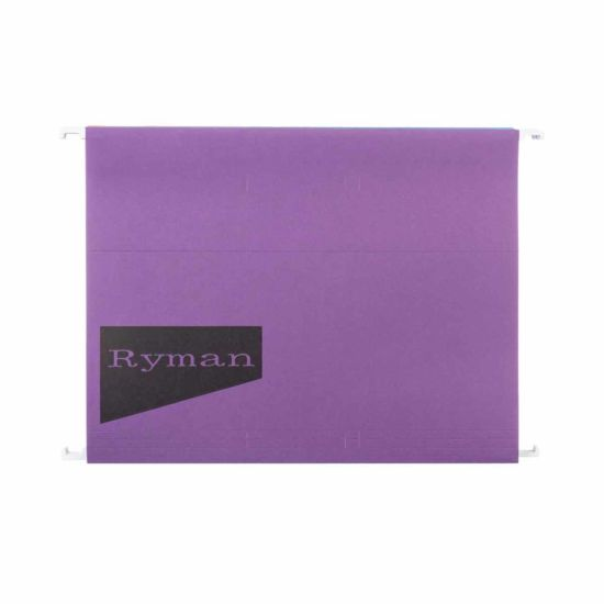 Ryman Suspension Files A4 Pack of 10 Assorted