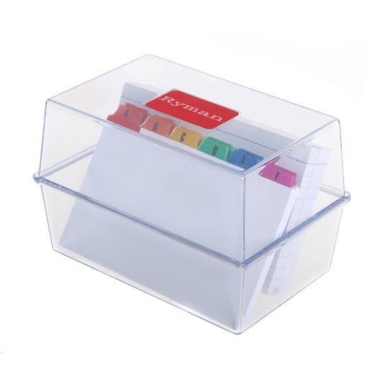 Ryman Index Box 127x76mm with Inserts