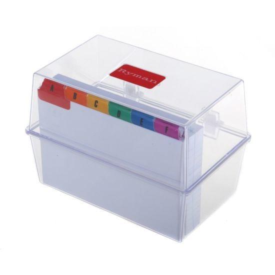 Ryman Index Box 150x100mm with Inserts