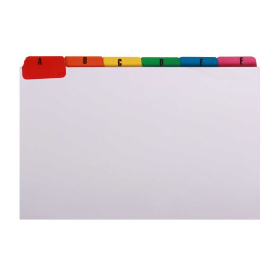 Europa A to Z Index Cards 204x127mm