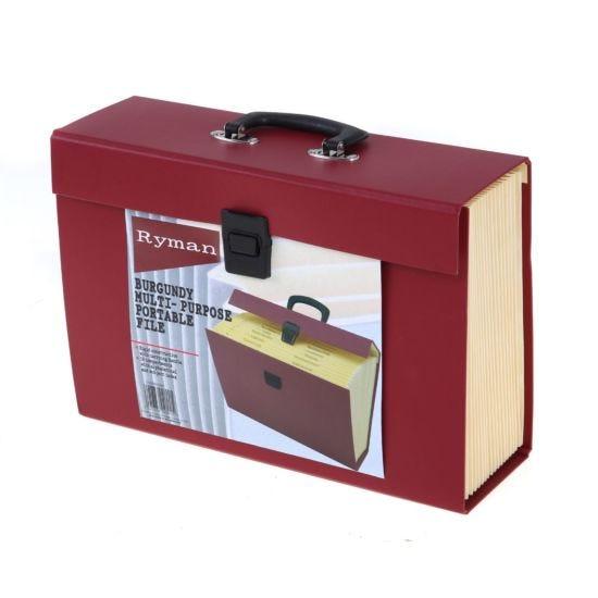Ryman 19 Pocket Portable Expandable File