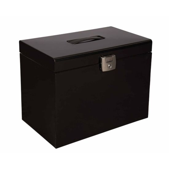 Pierre Henry Metal File Box A4 with 5 Suspension Files
