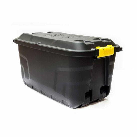 Strata Heavy Duty Storage Box with Wheels 75 Litre