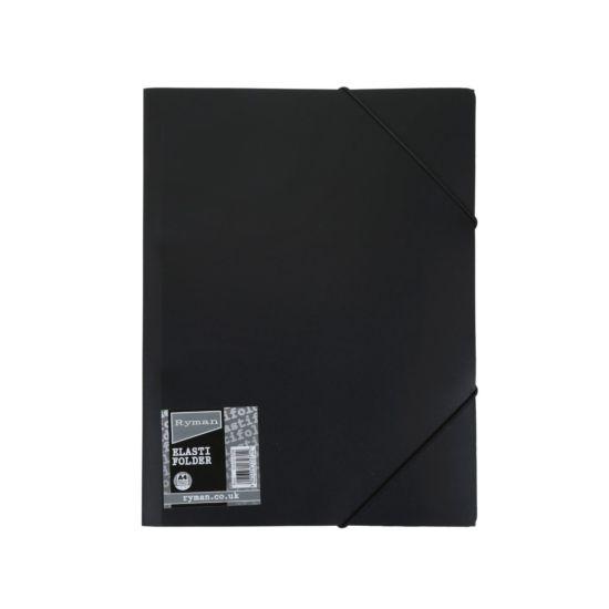 Ryman Elasti Folder A4 Black