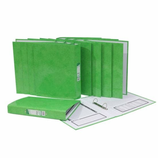 Ryman Select A4 Ringbinder Pack of 10 Green