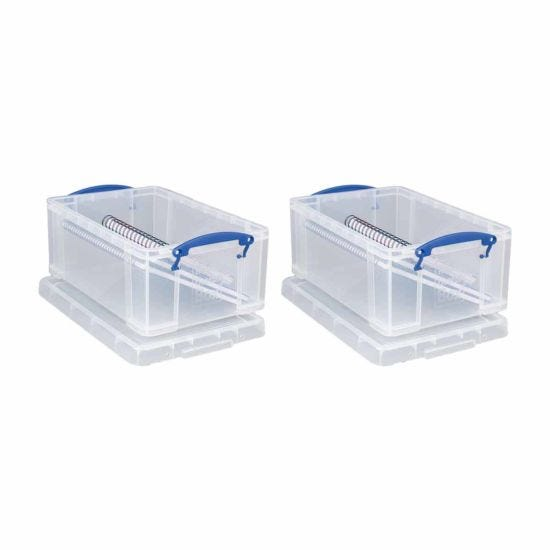 Really Useful Storage Box 9 Litre Pack of 2