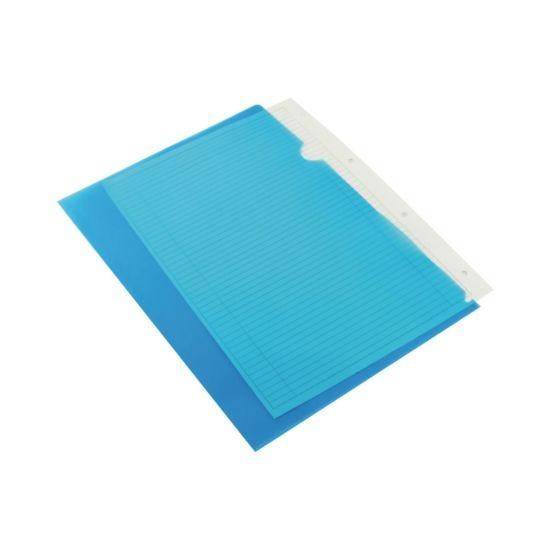 Q-Connect Cut Flush Folder A4 Pack 100 Blue