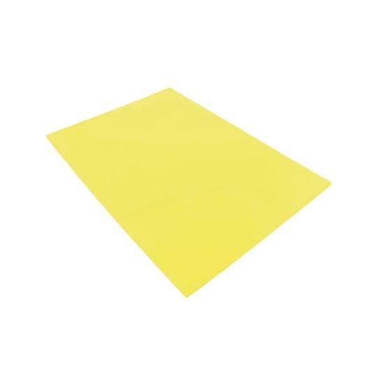 Q-Connect Cut Flush Folder A4 Pack 100 Yellow