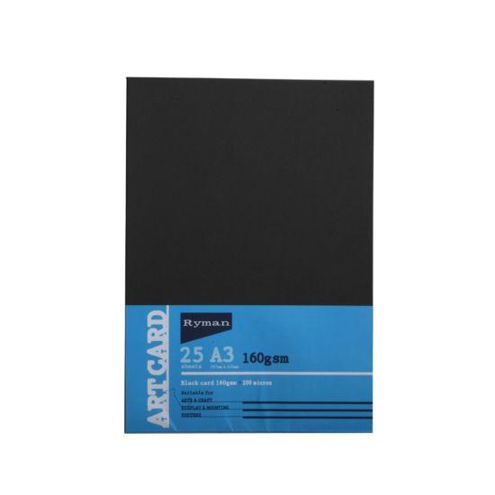 Ryman Art Card A3 160gsm 25 Sheets