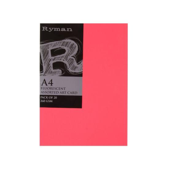 Ryman Artcard A4 260gsm Pack 20