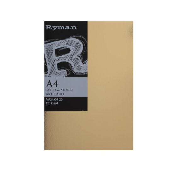 Ryman Artcard A4 220gsm Pack 20