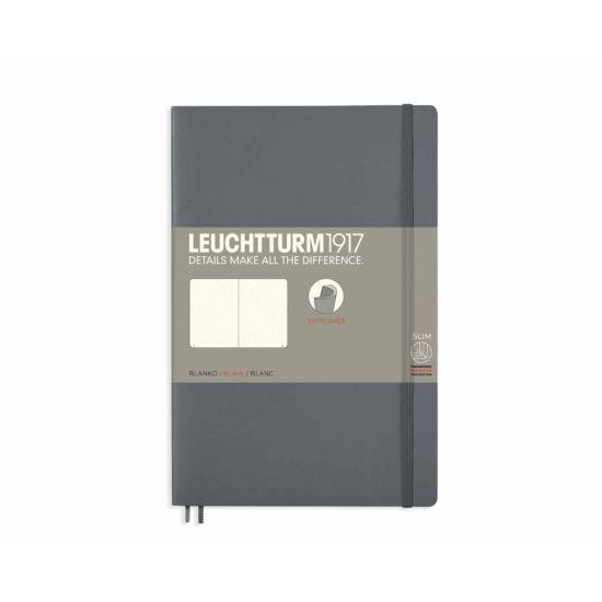 Leuchtturm1917 Soft Cover Notebook Plain B6 Plus