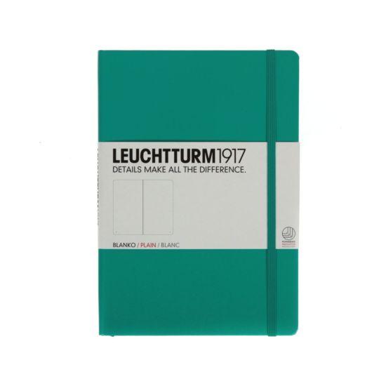 Leuchtturm1917 Notebook Plain A5 Emerald