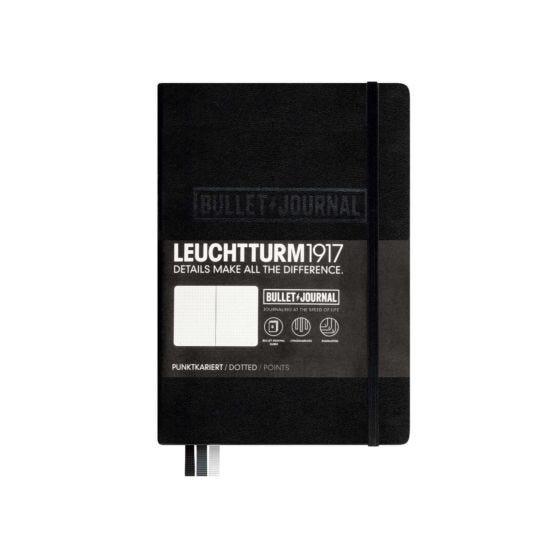 Leuchtturm Bullet Journal Notebook A5 Black