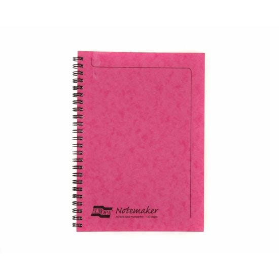 Europa Notemaker Pad A5 Ruled 120 Pages 60 Sheets