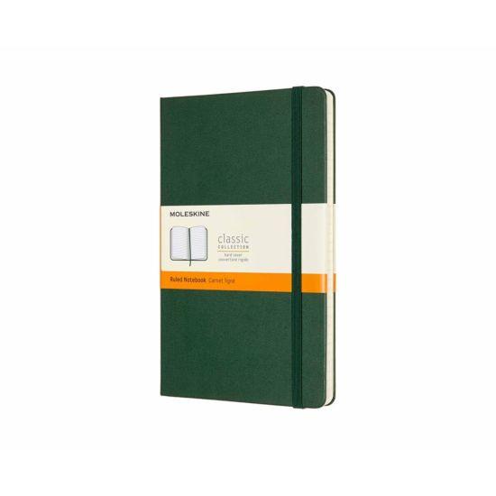Moleskine Classic Notebook Hardcover Large Ruled Myrtle Green
