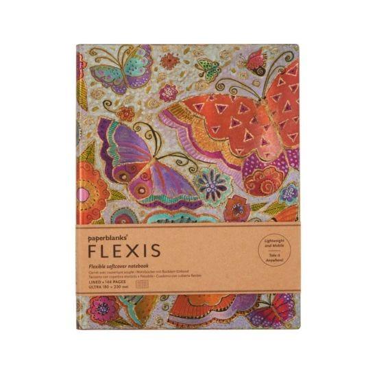 Paperblanks Flexi FLutterbyes Notebook Ultra