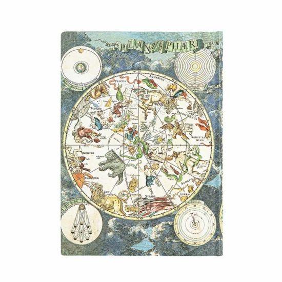 Paperblanks Journal Celestial Planisphere Midi Flexi