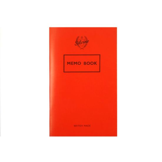 Silvine Memo Book 72 Pages 36 Sheets