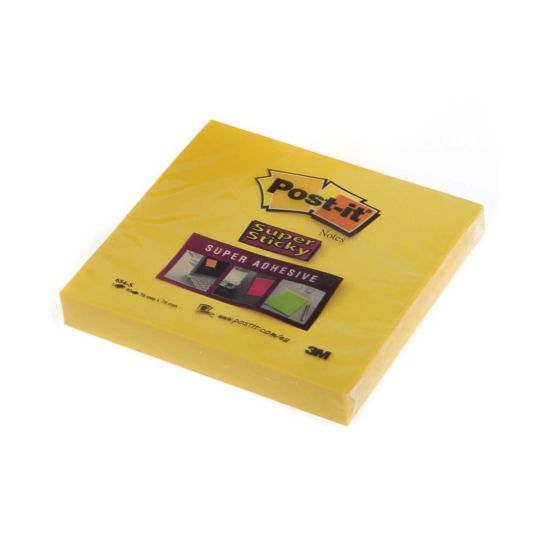 Post It Super Sticky Notes 76x76mm