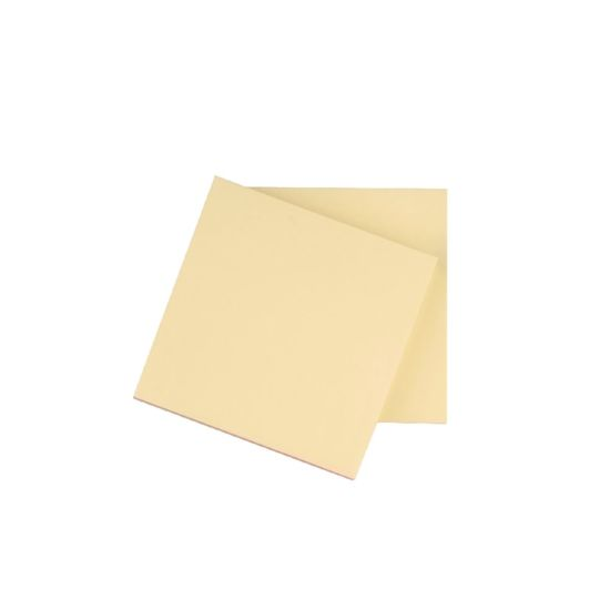 Q-Connect Repositionable Quick Notes 76 x 76mm Yellow Pack of 12