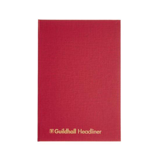 Guildhall Headliner Account Book 12 Cash Columns