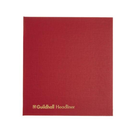 Guildhall Headliner Account Book 12 Cash Columns 6 Debit Columns